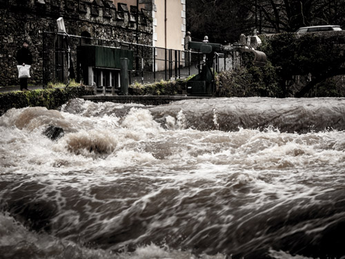 Tavy in Flood